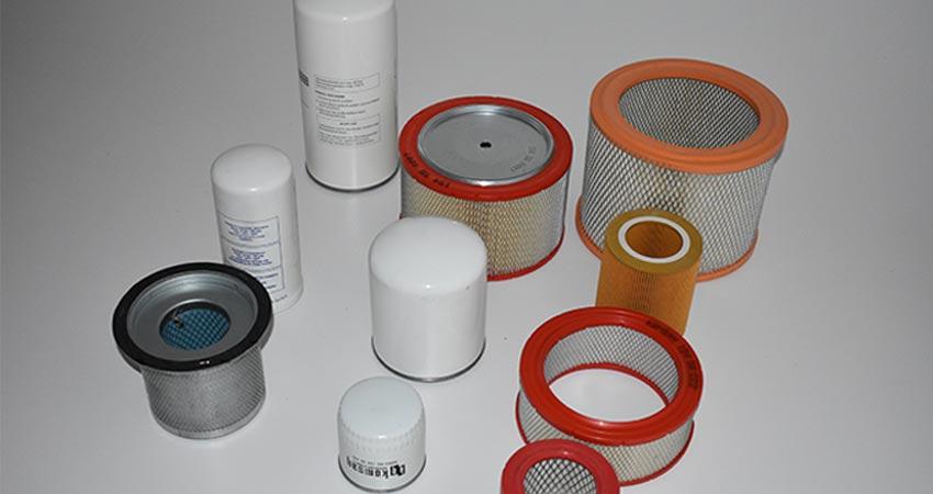 Compressor-filters
